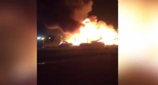 İsveç'in Örebro kentinde cami yakıldı