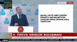 Cumhurbaşkanı Erdoğan: Bugün cübbeli, sakallı, hoca ve alim kılıklı modern Lawrenceler var