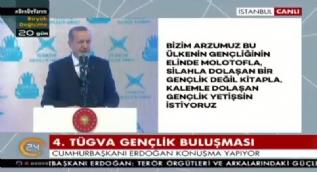 Erdoğan: FETÖ'cüler gibi diploma avcılığı yapan değil, ilim peşinde koşan bir nesil hayal ediyoruz
