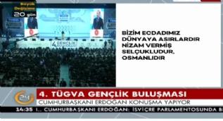 Cumhurbaşkanı Erdoğan: Sizler Çanakkale'yi Yedi Düvele mezar etmiş milletin mensuplarısınız