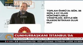 Cumhurbaşkanı Erdoğan: Bunlar her yerde ikilikten yanaydı