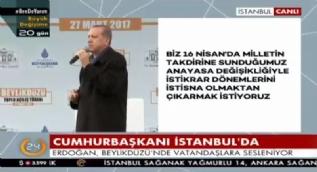 Cumhurbaşkanı Erdoğan: Özal, Demirel, Türkeş, Yazıcıoğlu hep yeni sistemi istedi
