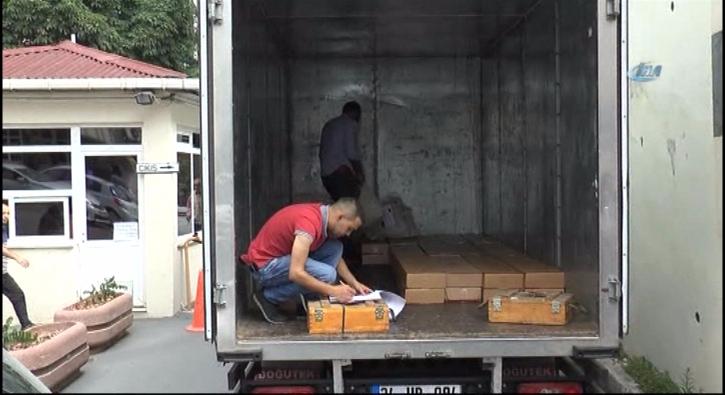 Darbeci ter�ristlerin kamyon dolusu m�himmat�