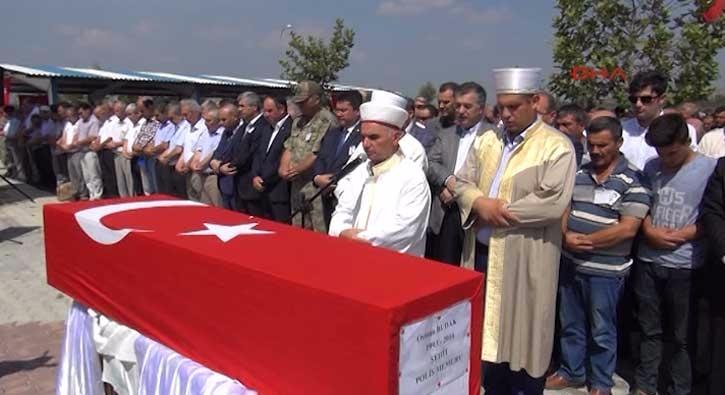 Osmaniye �ehidi topra�a verildi