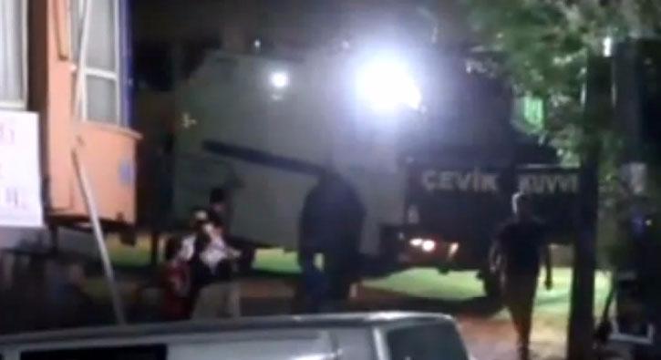 Polis lojmanlar� yak�n�nda �iddetli patlama