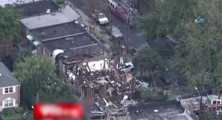 New York�ta patlama: 5 yaral�