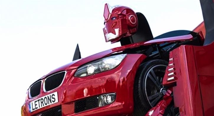 T�rk m�hendisler yapt�! Ankaral� 'Transformers' g�r�c�ye ��kt�