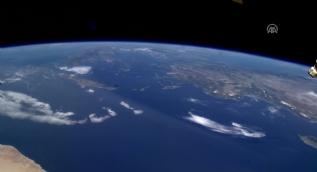 400 km yukarıdan çekilen Türkiye görüntüleri