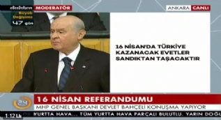 Bahçeli: MHP'yi Kürt karşıtı göstermeye çalışan kim varsa hem bölücü hem de su katılmamış Türkiye düşmanıdır