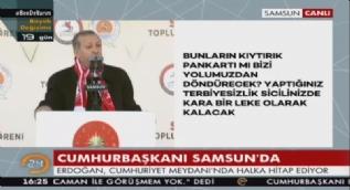 Erdogan: 'Hayır' çadırını ziyaret ettim, bana 'Yavuz Sultan Selim köprüsüne neden o ismi verdiniz' dediler