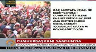 Cumhurbaşkanı Erdoğan: Bu seçim bizim Avrupa'ya ne oluyor!
