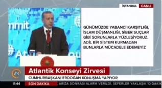 Erdoğan: Esed'in halkını katletmesine devam etmesinin sebebi geçmişte işlediği suçların yanına kar kalmasıdır