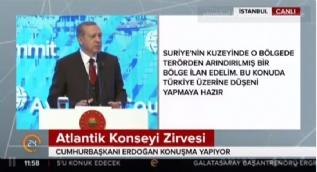 Cumhurbaşkanı Erdoğan: PYD saldırılarının gereğini yapmaya devam edeceğiz