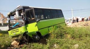 Özel halk otobüsünün freni boşaldı: 22 yaralı
