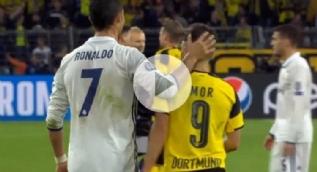 Emre Mor oyuna girdi performans�yla Ronaldo'dan tebrik ald�