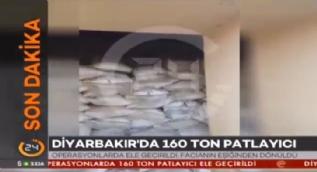 Diyarbak�r'da 160 ton patlay�c� ele ge�irildi
