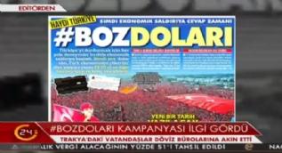 Sosyal medya üzerinden dolar boykotu