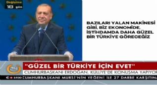 Cumhurbaşkanı Erdoğan: Cumhurbaşkanlığı makamına muhtarları almazlardı!