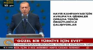 Cumhurbaşkanı Erdoğan:Silahı da benim şakağıma dayadılar