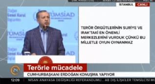 Cumhurbaşkanı Erdoğan:Fetih yakındır buna inanarak yola devam ediyoruz