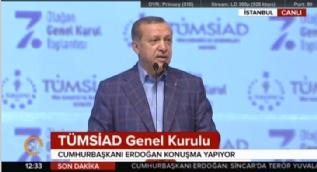 Cumhurbaşkanı Erdoğan:Demokrasi için er meydanı seçim meydanıdır ne maharetiniz varsa orada gösterin