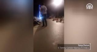 15 Temmuz �ehitler K�pr�s�'nde halk�n darbeci ter�ristlere direni�i
