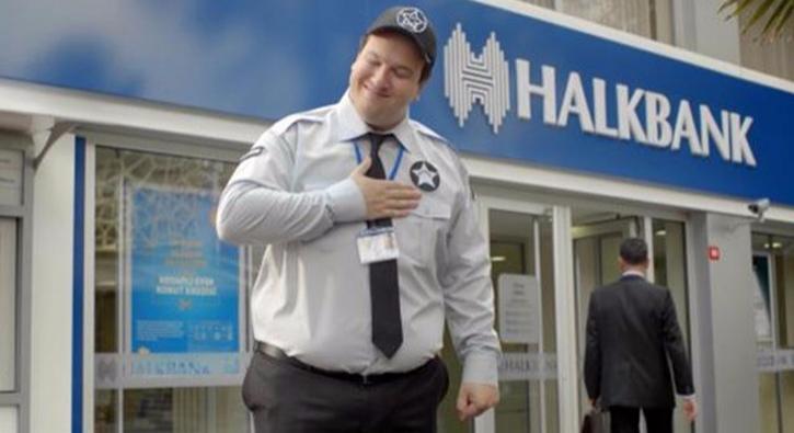 Halkbank'�n yeni reklam y�z� �ahan G�kbakar