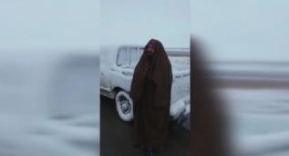Suudi Arabistan çöllerine kar yağdı