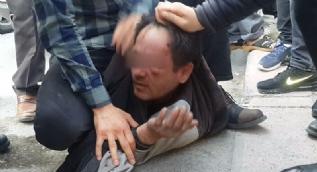 13 yaşındaki kız çocuğunu taciz ettiği iddia edilen kişiye meydan dayağı