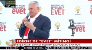 Başbakan Yıldırım:Devlet sistemini değil Hükümet sistemini değiştireceğiz