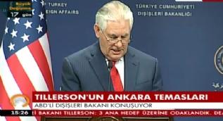 Tillerson: Türkiye'nin terörizme karşı nasıl bir mücadele içinde olduğunu biliyoruz