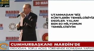 Cumhurbaşkanı Erdoğan:Hangi örgüte mensup olursa olsun hiçbir teröriste rahat yoktur