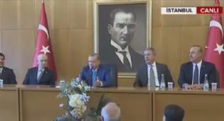 Cumhurbaşkanı Erdoğan'dan ABD-YPG nöbetine sert tepki