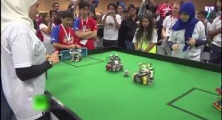 Dünya Robot Olimpiyatları futbol finali